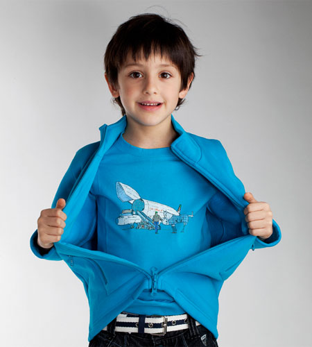 The Imaginarium children full-zip jacket collection